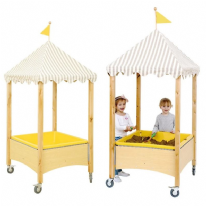 Norway Sand & Water Table With Canopy